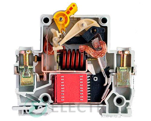 Конструкция автоматического выключателя ВА47-60