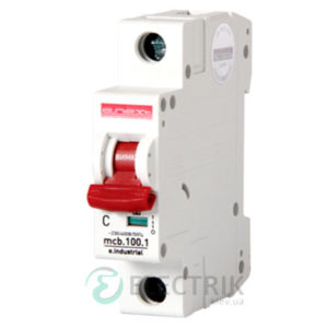 Автоматический выключатель e.industrial.mcb.100.1.C25, 1P 25 А характеристика C