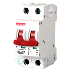 Автоматический выключатель e.industrial.mcb.100.1N.C20, 1P+N 20 А характеристика C, E.NEXT