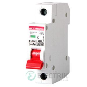 Автоматический выключатель e.mcb.pro.60.1.C 63 new, 1P 63 А характеристика C, E.NEXT