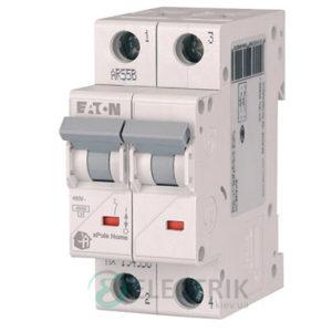 Автоматический выключатель 40А 2-полюса 4.5кА HL-C40/2 Eaton xPole Home 194775