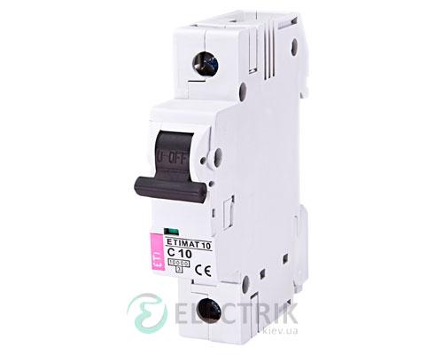 Автоматический-выключатель-ETIMAT-10-(10кА)-1P-10-А-хар-ка-C,-ETI-(Словения) 2131714