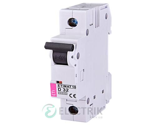 Автоматический-выключатель-ETIMAT-10-(10кА)-1P-32-А-хар-ка-D,-ETI-(Словения) 2151719