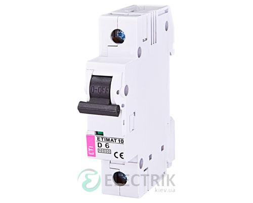Автоматический-выключатель-ETIMAT-10-(10кА)-1P-6-А-хар-ка-D,-ETI-(Словения) 2151712