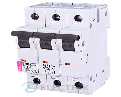 Автоматический-выключатель-ETIMAT-10-(10кА)-3P-10-А-хар-ка-C,-ETI-(Словения) 2135714