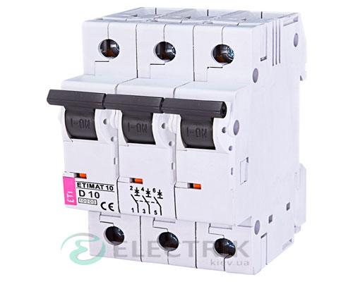 Автоматический-выключатель-ETIMAT-10-(10кА)-3P-10-А-хар-ка-D,-ETI-(Словения) 2155714