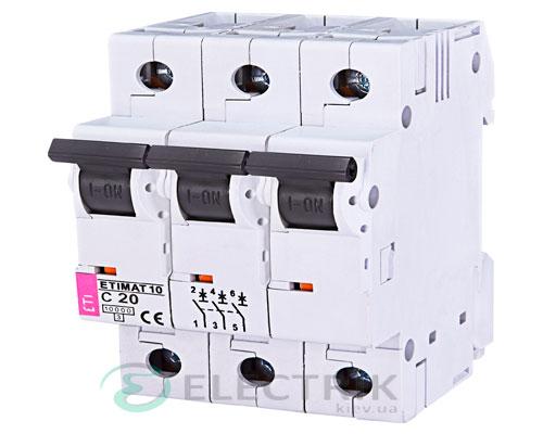 Автоматический-выключатель-ETIMAT-10-(10кА)-3P-13-А-хар-ка-C,-ETI-(Словения) 2135715