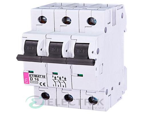 Автоматический-выключатель-ETIMAT-10-(10кА)-3P-16-А-хар-ка-D,-ETI-(Словения) 2155716