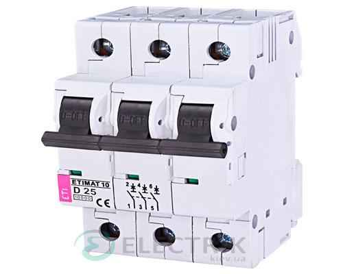 Автоматический-выключатель-ETIMAT-10-(10кА)-3P-25-А-хар-ка-D,-ETI-(Словения) 2155718