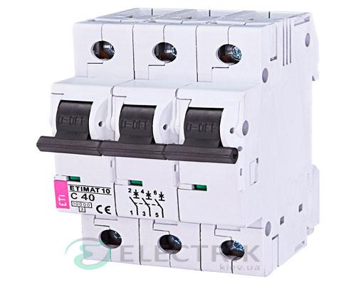Автоматический-выключатель-ETIMAT-10-(10кА)-3P-40-А-хар-ка-C,-ETI-(Словения) 2135720