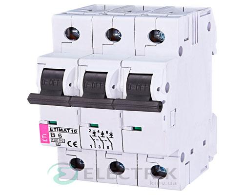 Автоматический-выключатель-ETIMAT-10-(10кА)-3P-6-А-хар-ка-B,-ETI-(Словения) 2125712
