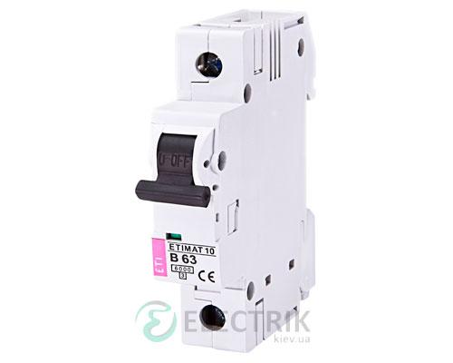 Автоматический-выключатель-ETIMAT-10-(6кА)-1P-63-А-хар-ка-B,-ETI-(Словения) 2121722