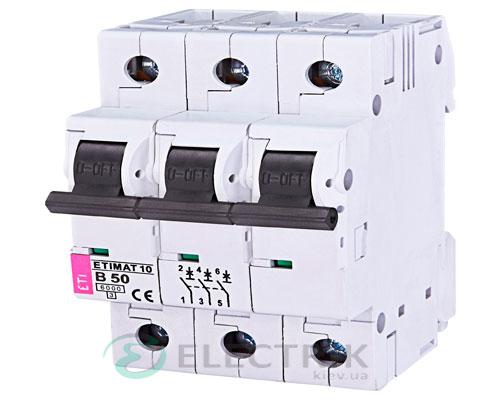 Автоматический-выключатель-ETIMAT-10-(6кА)-3P-50-А-хар-ка-B,-ETI-(Словения) 2125721