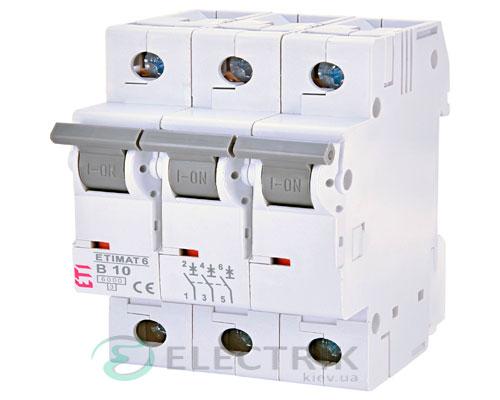 Автоматический-выключатель-ETIMAT-6-(6кА)-3P-10-А-хар-ка-B,-ETI-(Словения) 2115514