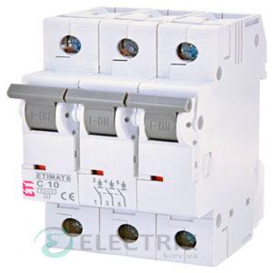 Автоматический-выключатель-ETIMAT-6-(6кА)-3P-10-А-хар-ка-C,-ETI-(Словения) 2145514