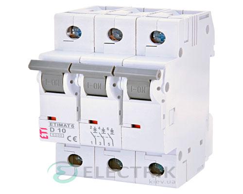 Автоматический-выключатель-ETIMAT-6-(6кА)-3P-10-А-хар-ка-D,-ETI-(Словения) 2164514