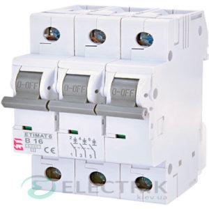 Автоматический-выключатель-ETIMAT-6-(6кА)-3P-16-А-хар-ка-B,-ETI-(Словения) 2115516