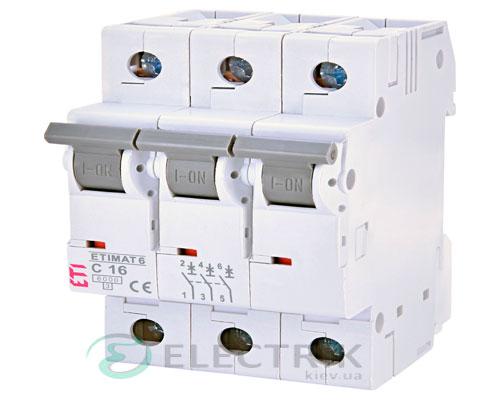 Автоматический-выключатель-ETIMAT-6-(6кА)-3P-16-А-хар-ка-C,-ETI-(Словения) 2145516