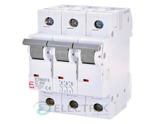 Автоматический-выключатель-ETIMAT-6-(6кА)-3P-50-А-хар-ка-C,-ETI-(Словения) 2145521