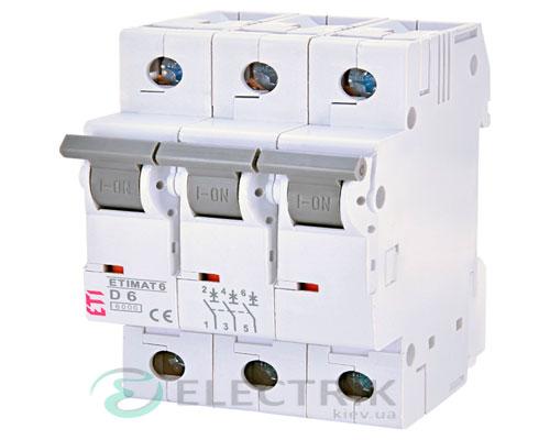 Автоматический-выключатель-ETIMAT-6-(6кА)-3P-6-А-хар-ка-D,-ETI-(Словения) 2164512