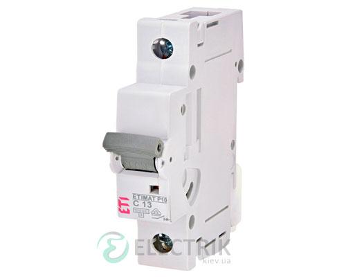 Автоматический-выключатель-ETIMAT-P10-(10кА)-1P-13-А-хар-ка-C,-ETI-(Словения) 271301109