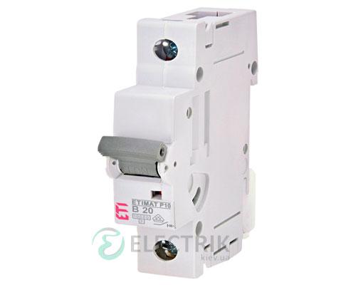Автоматический-выключатель-ETIMAT-P10-(10кА)-1P-20-А-хар-ка-B,-ETI-(Словения) 272000100