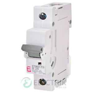 Автоматический-выключатель-ETIMAT-P10-(10кА)-1P-25-А-хар-ка-B,-ETI-(Словения) 272500105