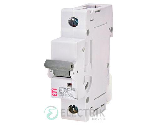 Автоматический-выключатель-ETIMAT-P10-(10кА)-1P-32-А-хар-ка-C,-ETI-(Словения) 273201108