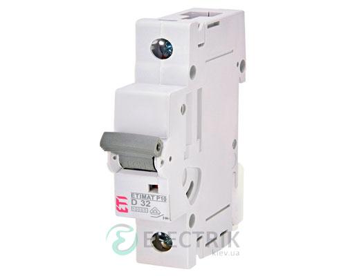 Автоматический-выключатель-ETIMAT-P10-(10кА)-1P-32-А-хар-ка-D,-ETI-(Словения) 273202109