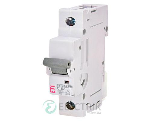 Автоматический-выключатель-ETIMAT-P10-(10кА)-1P-63-А-хар-ка-C,-ETI-(Словения) 276301104