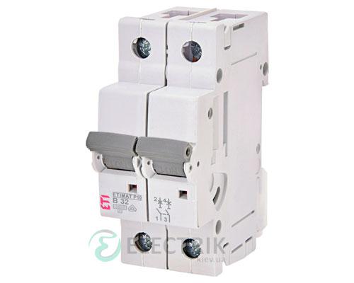 Автоматический-выключатель-ETIMAT-P10-(10кА)-2P-32-А-хар-ка-B,-ETI-(Словения) 273220101