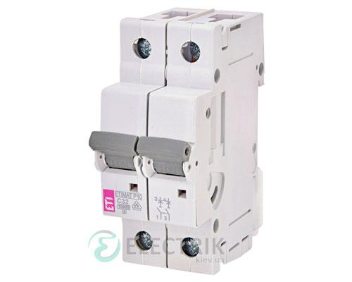 Автоматический-выключатель-ETIMAT-P10-(10кА)-2P-32-А-хар-ка-C,-ETI-(Словения) 273221102
