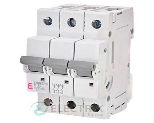 Автоматический-выключатель-ETIMAT-P10-(10кА)-3P-10-А-хар-ка-C,-ETI-(Словения) 271031101