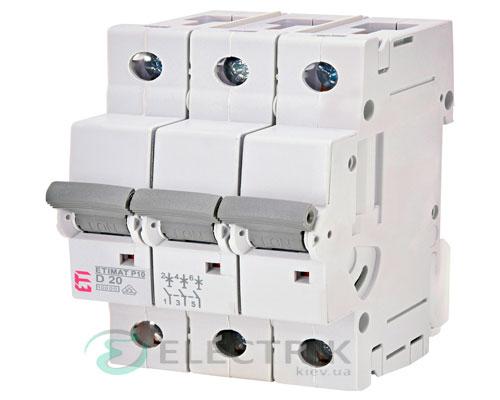 Автоматический-выключатель-ETIMAT-P10-(10кА)-3P-20-А-хар-ка-D,-ETI-(Словения) 272032103