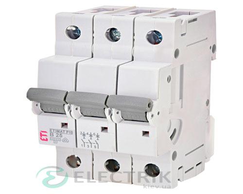 Автоматический-выключатель-ETIMAT-P10-(10кА)-3P-25-А-хар-ка-B,-ETI-(Словения) 272530106