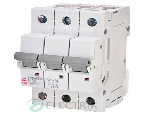 Автоматический-выключатель-ETIMAT-P10-(10кА)-3P-25-А-хар-ка-C,-ETI-(Словения) 272531107