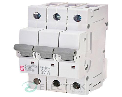 Автоматический-выключатель-ETIMAT-P10-(10кА)-3P-25-А-хар-ка-D,-ETI-(Словения) 272532108