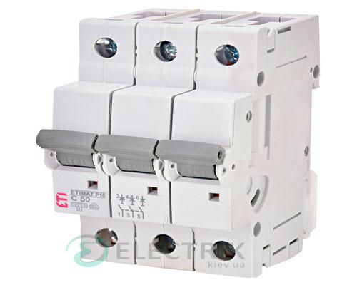 Автоматический-выключатель-ETIMAT-P10-(10кА)-3P-50-А-хар-ка-C,-ETI-(Словения) 275031105