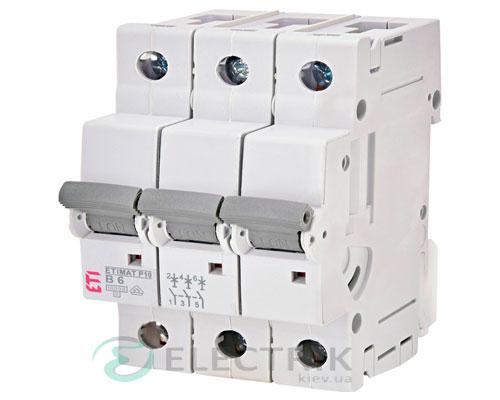 Автоматический-выключатель-ETIMAT-P10-(10кА)-3P-6-А-хар-ка-B,-ETI-(Словения) 270630107