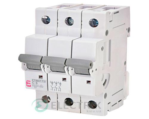 Автоматический-выключатель-ETIMAT-P10-(10кА)-3P-6-А-хар-ка-C,-ETI-(Словения) 276321108