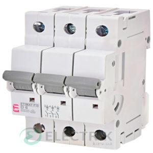Автоматический-выключатель-ETIMAT-P10-(10кА)-3P-6-А-хар-ка-D,-ETI-(Словения) 270632109