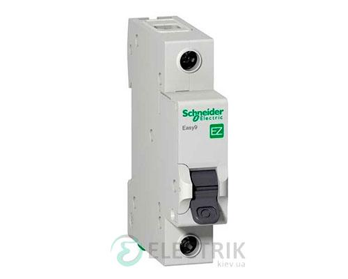 Автоматический выключатель Easy9 1p 63A, х-ка C, 4.5кА Schneider Electric