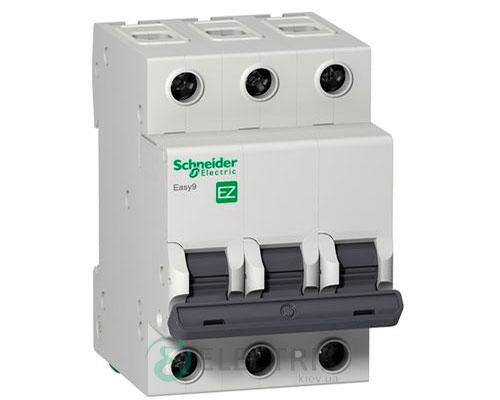 Автоматический выключатель Easy9 3p 63A, х-ка C, 4.5кА Schneider Electric