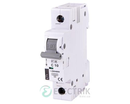 Автоматический-выключатель-ST-68-(4,5-кА)-1p-10-А-хар-ка-C,-ETI-(Словения) 2181314