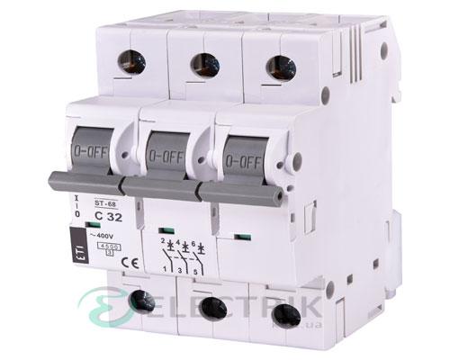 Автоматический-выключатель-ST-68-(4,5-кА)-3p-32-А-хар-ка-C,-ETI-(Словения) 2185319