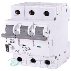 Автоматический-выключатель-ST-68-(4,5-кА)-3p-40-А-хар-ка-C,-ETI-(Словения) 2185320
