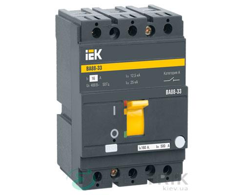 Автоматический выключатель ВА88-33 3P 160А 35кА IEK SVA20-3-0160