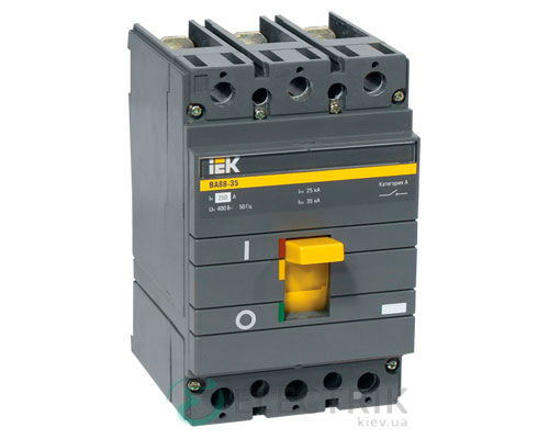 Автоматический выключатель ВА88-35 3P 200А 35кА IEK SVA30-3-0200