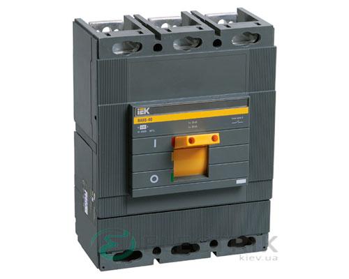 Автоматический выключатель ВА88-40 3Р 400А 35кА IEK SVA50-3-0400