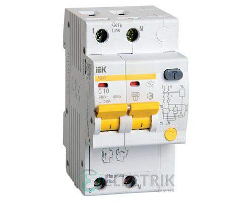 Дифференциальный-автоматический-выключатель-АД12-2Р-10А-10мА-IEK MAD10-2-010-C-010